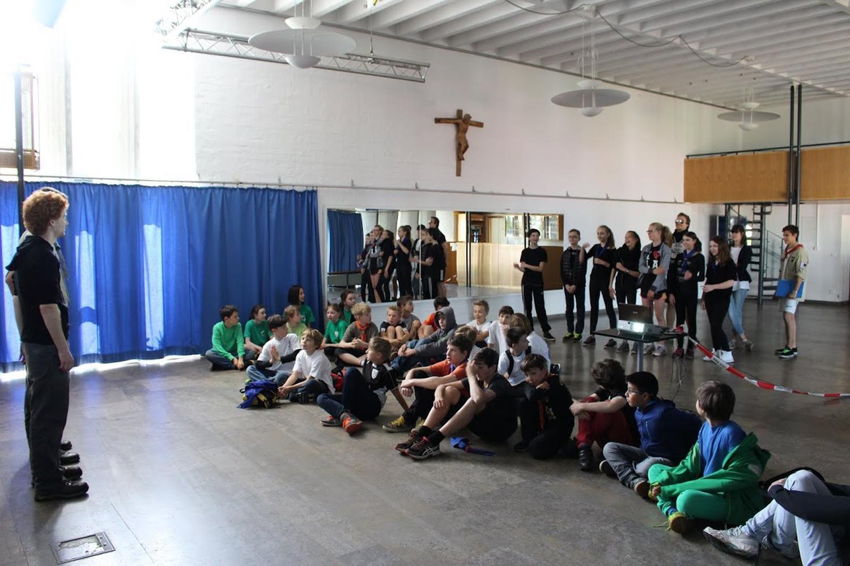 Bezirks Jupfi Scoutball Turnier 2015 01